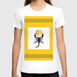 A Scorpion With The Moon In The Frame #decor #society6 #buyart T-shirt