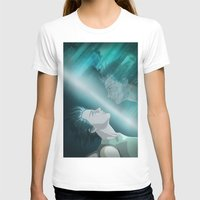 ghost in the shell T-shirts featuring Ghost in the Shell, fan poster by XDimov