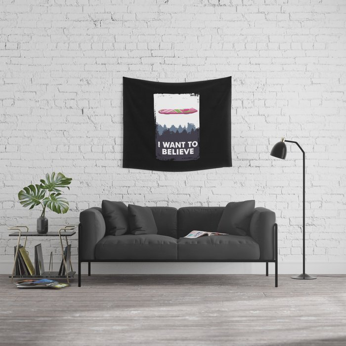 I Want to Believe Wall Tapestry