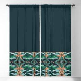 Rainforest Pattern - ocelot spots II Blackout Curtain