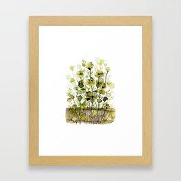 Floral Charm No.1H by Kathy Morton Stanion Framed Art Print