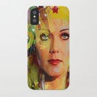 wonder iPhone & iPod Cases featuring Wonder by Joe Ganech