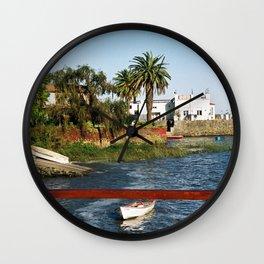 Colonia del Sacramento 01 Wall Clock