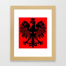 Polish Eagle Herald Framed Art Print