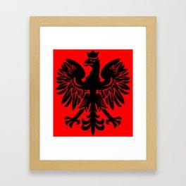 Polish Eagle Herald Framed Art Print