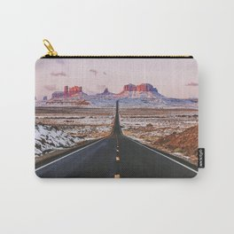 Monument Valley Sunrise Carry-All Pouch