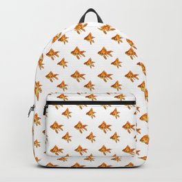 Gold Fish Painting Wall Art Backpack
