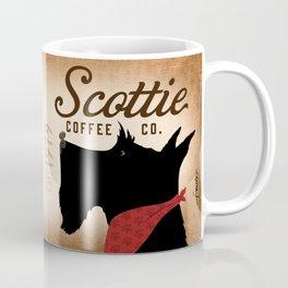 Scottie Coffee Company Dog Artwork by Stephen Fowler Coffee Mug