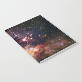 NASA Galaxy Photography Duvet Cover Notebook