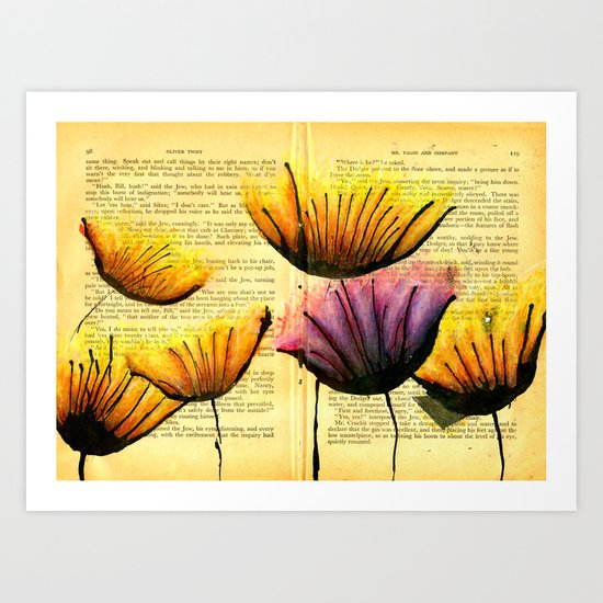 And They Just Swayed In The Wind Art Print