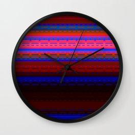 PaintedDesert 12 Wall Clock