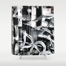 Gritty Philly Shower Curtain