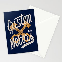 Custom Motors Stationery Cards