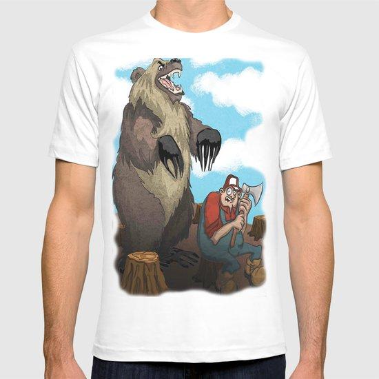 Man vs Nature T-shirt