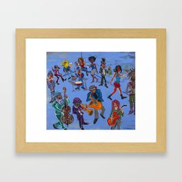 The Blue Room Framed Art Print