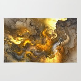 Unreal Stormy Heaven Rug