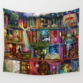 Whimsy Trove - Treasure Hunt Wall Tapestry