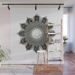 Astrology Signs Mandala Wall Mural