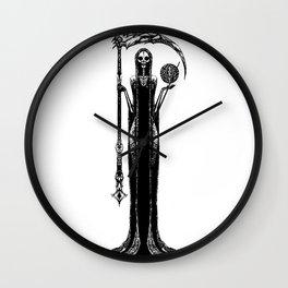 Lady Grim Wall Clock
