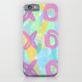 Everybody Is Somebody's Special love xoxo pop art typography iPhone Case