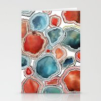agate Stationery Cards featuring AGATE by Kelsey Eckstrom