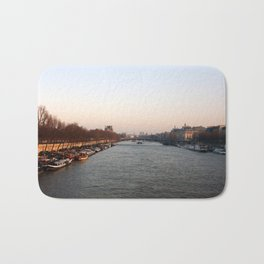 Sunset in Paris Bath Mat