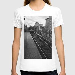 Black and White J Train T-shirt