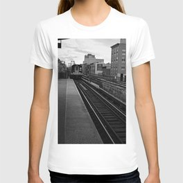 Black and White J Train T-shirt
