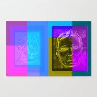 frames Canvas Prints featuring Frames by Chris League