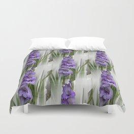 Purple Love... Duvet Cover