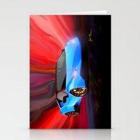 lamborghini Stationery Cards featuring Lamborghini Huracán by JT Digital Art