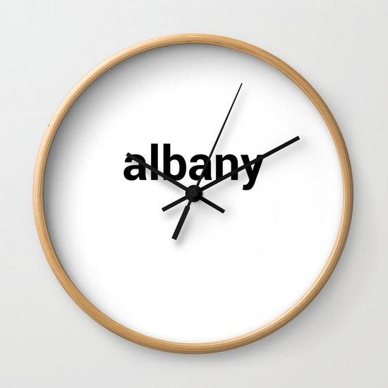 albany Wall Clock