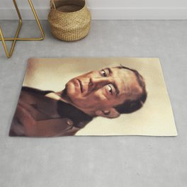 Buster Keaton, Vintage Actor and Comedian Rug