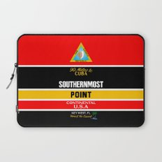Southern Most Point, Key West, Florida/サザン・モスト・ポイント Laptop Sleeve