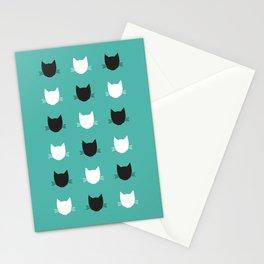 Cat Pattern 03 Stationery Cards