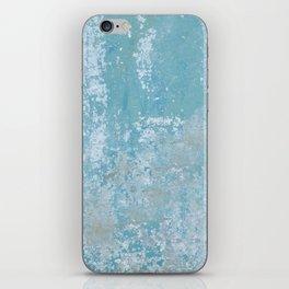 Vintage Galvanized Metal iPhone Skin