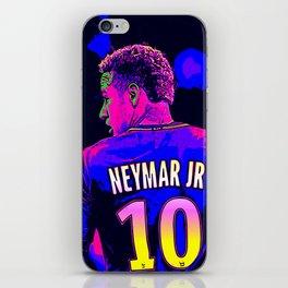 Neon Neymar iPhone Skin