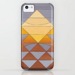 Pyramid Sun Mauve Purple iPhone Case