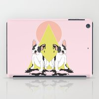 pugs iPad Cases featuring Pugs by Anna McKay