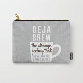 Coffee Deja Brew Carry-All Pouch