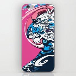 Whirlwind Tiger iPhone Skin