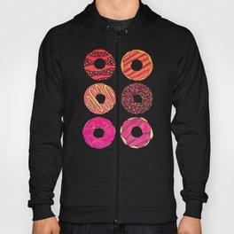 Half Dozen Donuts – Pink & Peach Ombré Hoody
