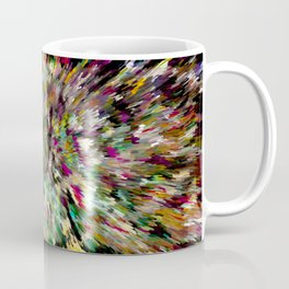 Bright Rainbow Shag Coffee Mug