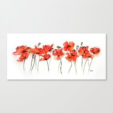 Remember me _ Poppies Canvas Print