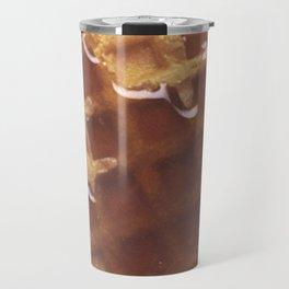 Waffles With Syrup Travel Mug