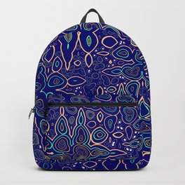 Millions and billions of stars, abstract starry night sky Backpack
