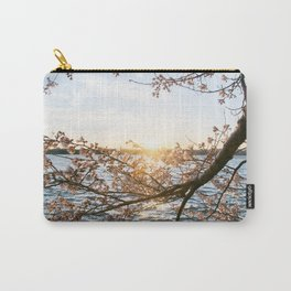 Sun Over the Horizon Carry-All Pouch