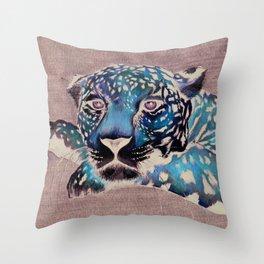 """""""Leopardo"""" Throw Pillow"""