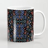 folk Mugs featuring Folk by Pommy New York