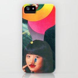 Teen Kiss en Kamehameha iPhone Case